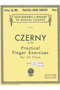 Schirmers Library Vol. 192: Practical Finger Exercises For the Piano