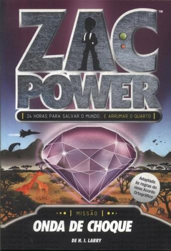 Zac Power 10 - Zac Power Onda de Choque