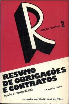 Resumos 2 - Resumo de Obrigações e Contratos Civis e Comerciais