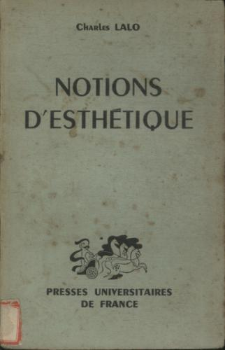 Notions Desthétique
