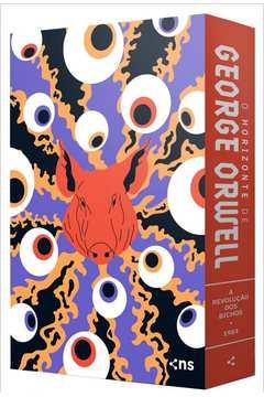 """Box o Horizonte de George Orwell """"2 Livros + PÔster + Suplemento"""""""