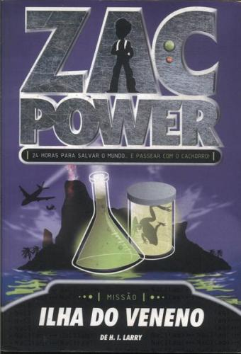 Zac Power 1 - Zac Power Ilha do Veneno
