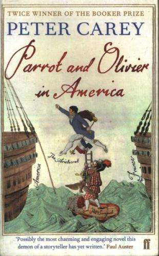 Parrot and Oliver in America