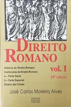 Direito Romano Vol. I