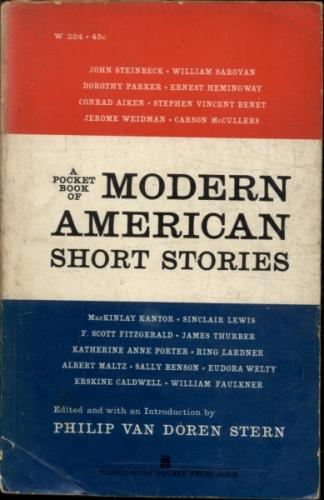A Pocket Book of Modern American Short Stories