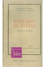 Discursos de Defesa: Defesas Penais