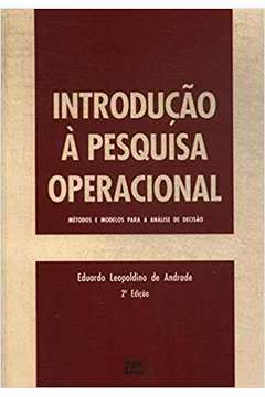 Introdução á Pesquisa Operacional