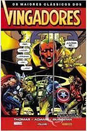 Os Maiores Clássicos dos Vingadores - Volume 1