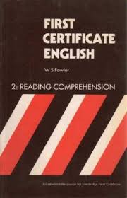 First Certificate English - 2: Reading Comprehension