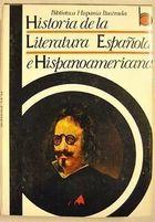 Historia de La Literatura Española e Hispanoamericana