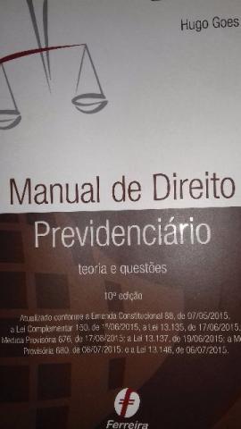 Manual De Direito Previdenciario Hugo Goes 7 Edicao Pdf