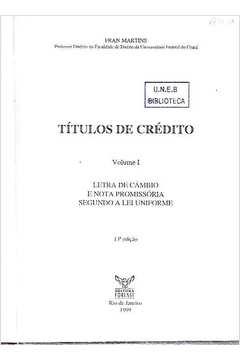 Títulos de Crédito - Vol. 1