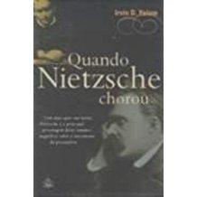 Quando Nietzsche Chorou de Irvin D. Yalon pela Ediouro (2008)