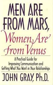 Men are From Mars Womem are From Venus