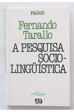 A Pesquisa Sociolinguistica