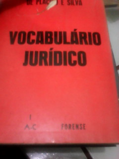 Vocabulário Jurídico - Vol. 1 - a - C
