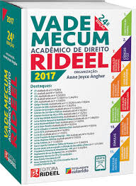 Vade Mecum Acadêmico de Direito 9ª Edição de Anne J, Angher pela Rideel (2009)