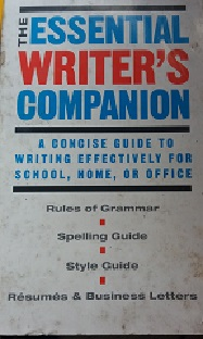The Essential Writers Companion