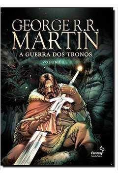 798b62b3d Livro  A Guerra dos Tronos Vol 1 Em Hq - George R R Martin