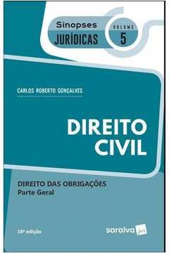 Direito Civil Direito das Obrigações Parte Geral