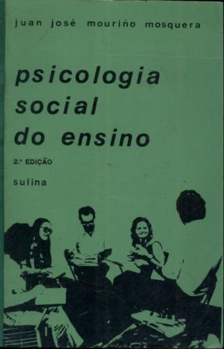 Universitária - Psicologia Social do Ensino