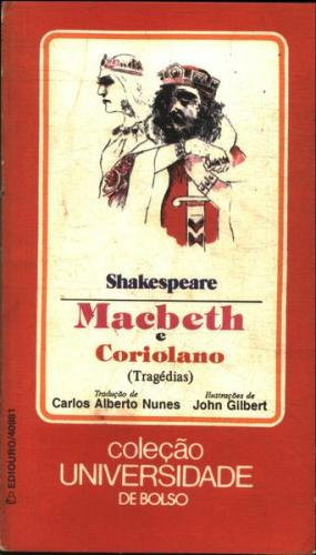 Universidade de Bolso 40981 - Macbeth e Coriolano