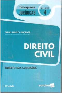Direito Civil - Direito das Sucessões- Sinopses Jurídicas Vol. 4