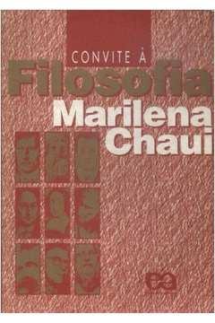 Livro Convite A Filosofia Marilena Chaui Estante Virtual