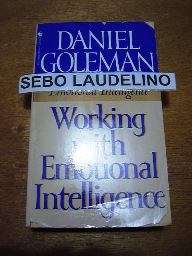 Working With Emotional Intelligence (livro de Bolso)