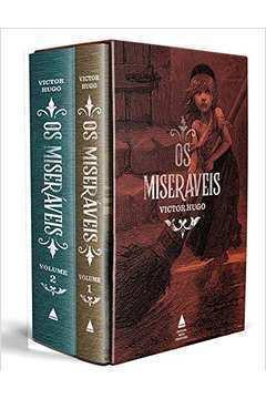 Box - os Miseráveis - 2 Volumes - Capa Dura