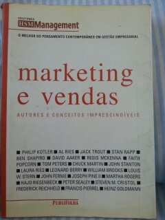 Marketing e Vendas Autores e Conceitos Imprescindíveis