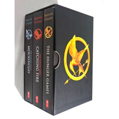 The Hunger Games Trilogy Boxset - (importado)