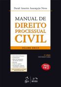Manual de Direito Processual Civil - Volume Único - 3a Ed. Revista