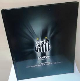 Livro  Santos Futebol Clube Almanaque Tricampeao da Libertadores ... e8f7001a263ac