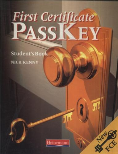 First Certificate Passkey Students Book 1998