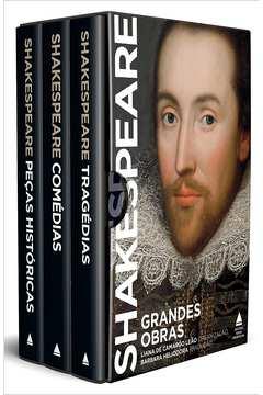 Grandes Obras de Shakespeare - Box - 3 Vols Capa Dura