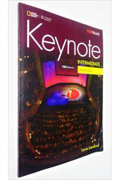 Keynote - Intermediate Workbook B1 - Ted Talks - Cd (acompanha 2 Cd)