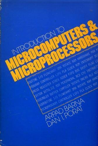Introduction to Microcomputers and Microprocessors