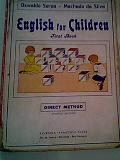 English For Children - First Book