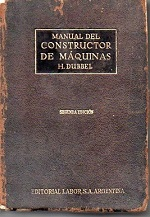 Manual del Constructor de Máquinas - Vol. 1