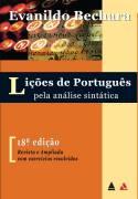 Liçoes de Portugues Pela Analise Sintatica de Evanildo Bechara pela Padrão (1985)