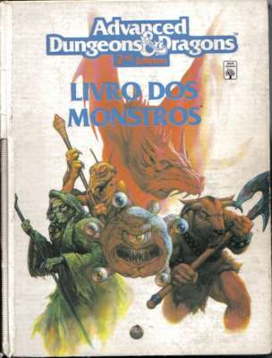 Advanced Dungeons e Dragons - Livro dos Monstros