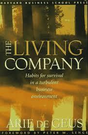 livro the living company arie de geus estante virtual