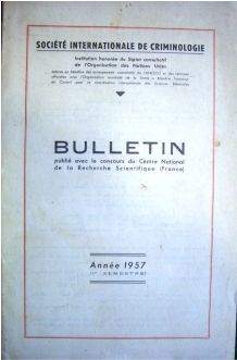 Bulletin - Societé Internationale de Criminologie