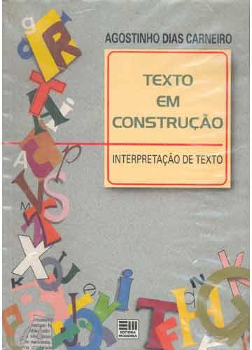 Texto Em Construção - Interpretação de Texto