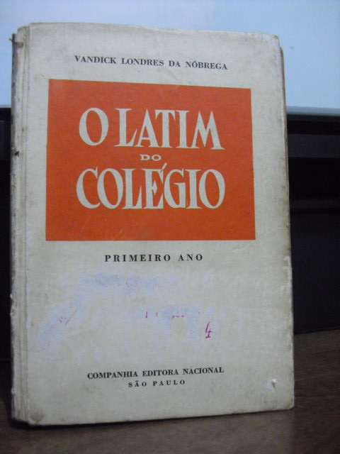 O Latim do Colégio