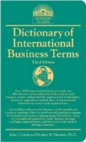 Dictionary of International Business Terms - Third Edition