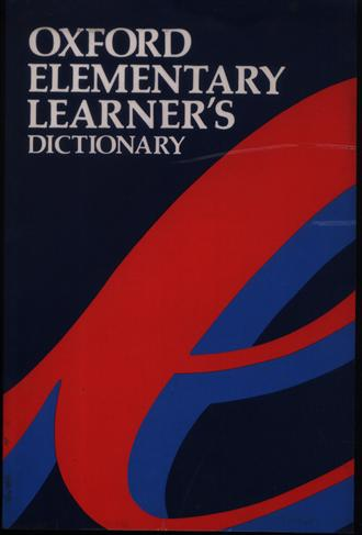 Oxford Elementary Learners Dictionary of English