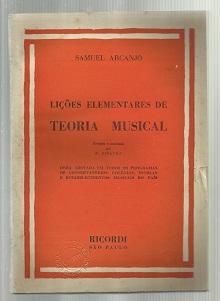 Lições Elementares de Teoria Musical