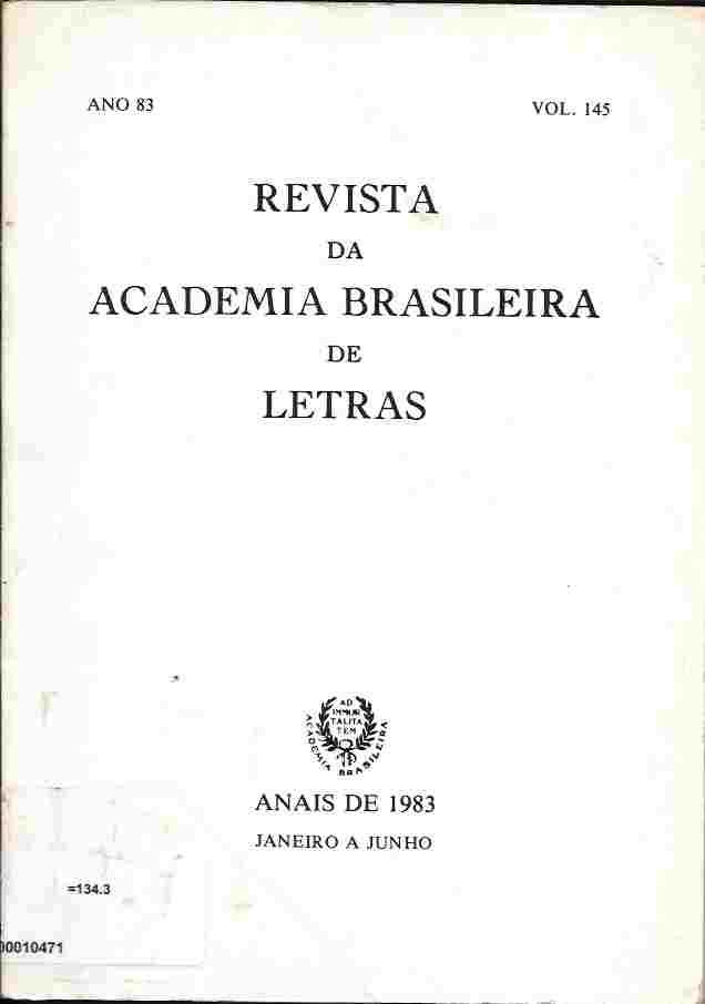 Revista da Academia Brasileira de Letras